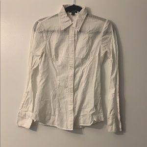 See-through dress shirt